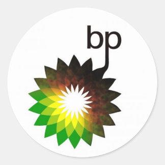 bp Logo Round Sticker