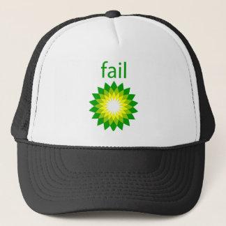BP Oil Spill Fail Logo Trucker Hat
