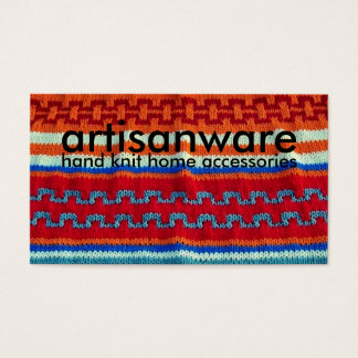 bpc Artisanware Knit Business/Profile Card