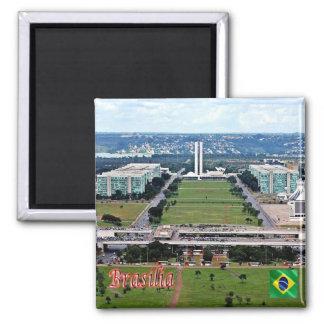 BR - Brazil - Brasilia Magnet