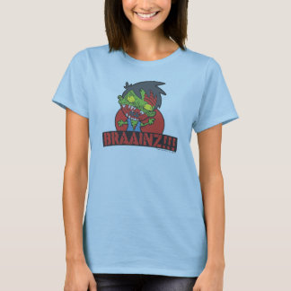 BRAAINZ!!! Zombie Shirt (Women, other Colors)