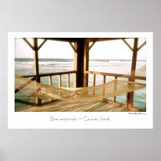 Brac Hammock ~ Cayman Islands ~ Travel Poster