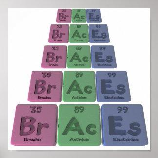 Braces-Br-Ac-Es-Bromine-Actinium-Einsteinium.png Poster