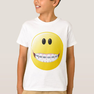 Braces Smiley Face T-Shirt