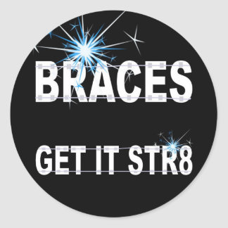 Braces stickers