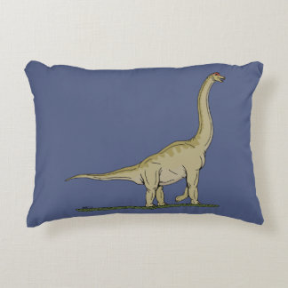 Brachiosaurus Accent Pillow