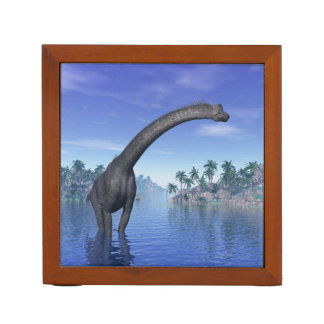 Brachiosaurus dinosaur - 3D render Desk Organizer