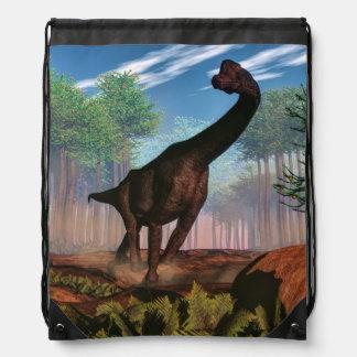 Brachiosaurus dinosaur - 3D render Drawstring Bag