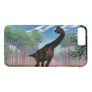 Brachiosaurus dinosaur - 3D render iPhone 8 Plus/7 Plus Case