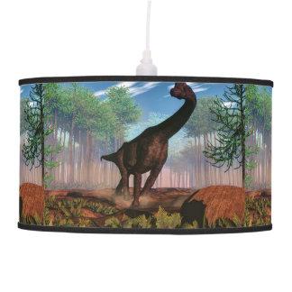 Brachiosaurus dinosaur - 3D render Pendant Lamp