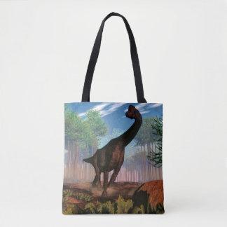 Brachiosaurus dinosaur - 3D render Tote Bag