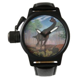 Brachiosaurus dinosaur - 3D render Wrist Watch