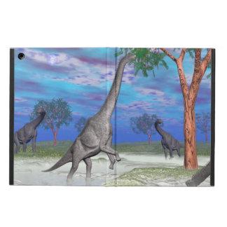 Brachiosaurus dinosaur eating - 3D render Case For iPad Air