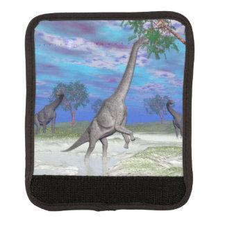 Brachiosaurus dinosaur eating - 3D render Handle Wrap