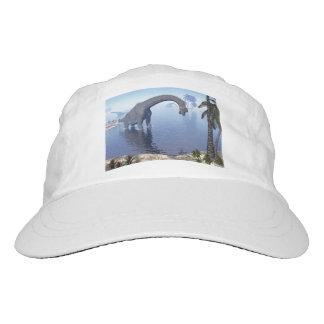 Brachiosaurus dinosaur in water - 3D render Hat