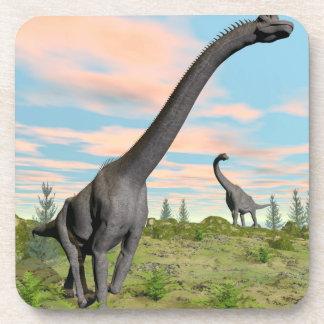 Brachiosaurus dinosaurs - 3D render Coaster
