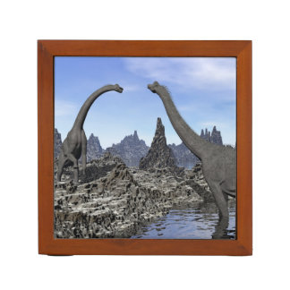 Brachiosaurus dinosaurs - 3D render Desk Organizer