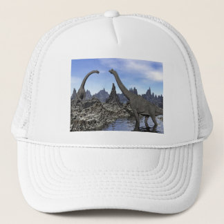 Brachiosaurus dinosaurs - 3D render Trucker Hat
