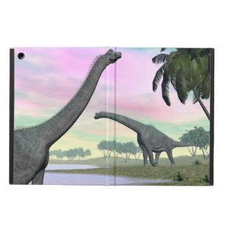 Brachiosaurus dinosaurs in nature - 3D render Case For iPad Air