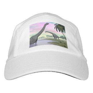 Brachiosaurus dinosaurs in nature - 3D render Hat
