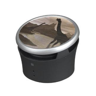 Brachiosaurus dinosaurs in water - 3D render Speaker