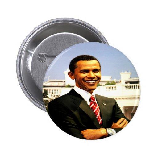 Brack Obama smart president USA Pinback Buttons