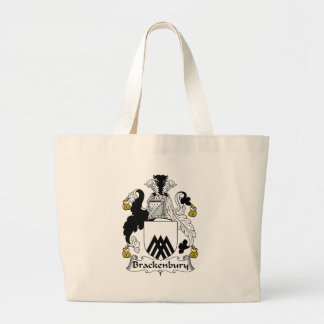 Brackenbury Family Crest Jumbo Tote Bag