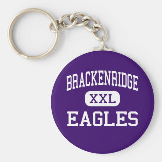 Brackenridge - Eagles - High - San Antonio Texas Keychain
