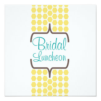 Bracket Band in Yellow Bridal Card