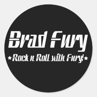 Brad Fury Stickers