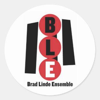 Brad Linde Ensemble Classic Round Sticker
