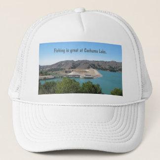 Bradbury Dam at Cachuma Lake Near Santa Ynez Trucker Hat