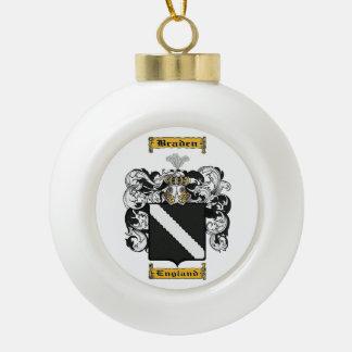 Braden Ceramic Ball Ornament