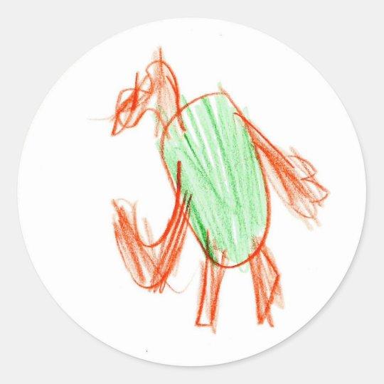 Braden : Circle Sticker