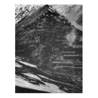 Braden Copper Mines in Chili Postcard