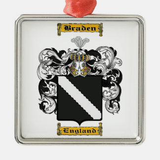 Braden Metal Ornament