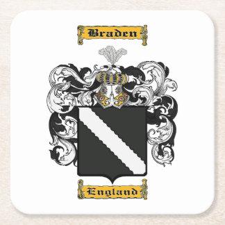 Braden Square Paper Coaster