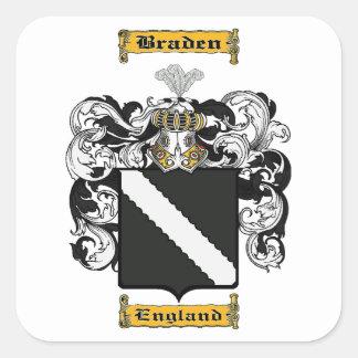 Braden Square Sticker