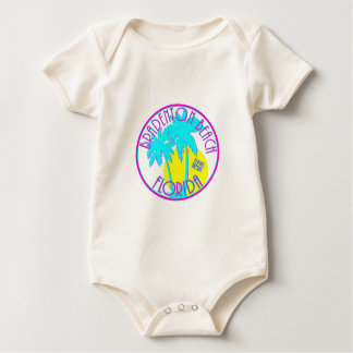 Bradenton Beach Florida Baby Bodysuit