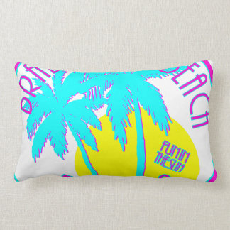 Bradenton Beach Florida Lumbar Pillow
