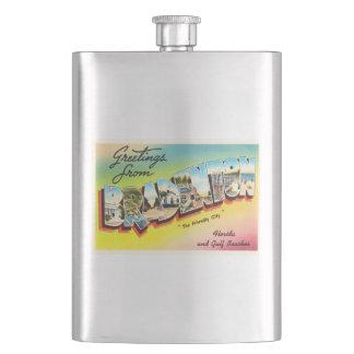 Bradenton Florida FL Old Vintage Travel Souvenir Flasks