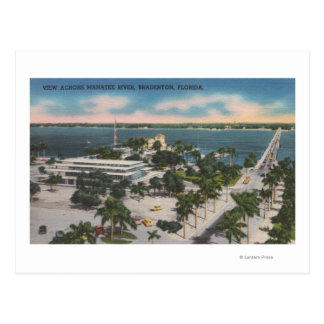 Bradenton, Florida - View Across Manatee River Postcard
