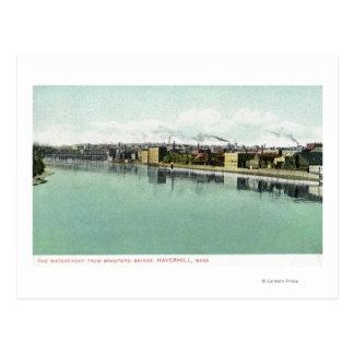 Bradford Bridge View of the Waterfront Postcard