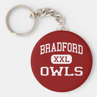 Bradford - Owls - Area - Bradford Pennsylvania Basic Round Button Keychain