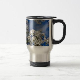 Bradford Pear Blooms Travel Mug