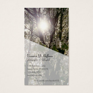 Bradford Pear Business Card