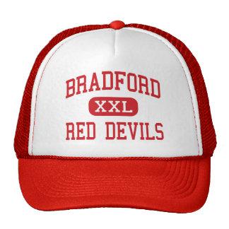 Bradford - Red Devils - High - Kenosha Wisconsin Trucker Hat