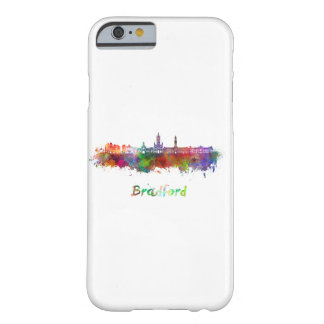 Bradford skyline in watercolor barely there iPhone 6 case