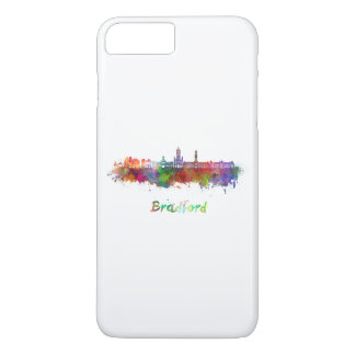 Bradford skyline in watercolor iPhone 8 plus/7 plus case
