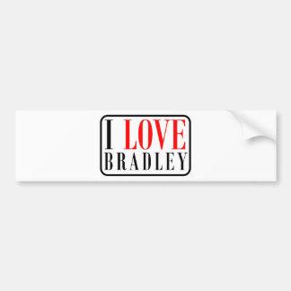 Bradley, Alabama City Design Bumper Sticker